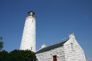 The Chantry Island Light